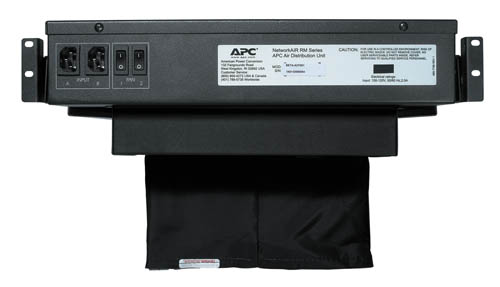APC Rack Air Distribution Unit Rear