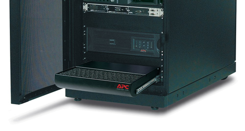 APC Rack Air Distribution Unit underfloor