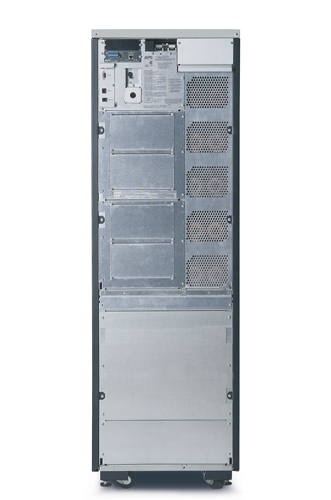 APC Symmetra LX 8kVA Scalable to 16kVA N+1 Ext. Run Tower, 208/240V Input, 208/240V and 120V Output - Back View